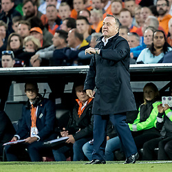 09.06.2017, De Kuip Stadium, Rotterdam, NED, FIFA WM 2018 Qualifikation, Niederlande vs Luxemburg, Gruppe A, im Bild Dick Advocaat of Netherlands // Dick Advocaat of Netherlands during the FIFA World Cup 2018, group A qualifying match between Netherlands and Luxemburg at the De Kuip Stadium in Rotterdam, Netherlands on 2017/06/09. EXPA Pictures © 2017, PhotoCredit: EXPA/ Focus Images/ Joep Joseph Leenen<br /> <br /> *****ATTENTION - for AUT, GER, FRA, ITA, SUI, POL, CRO, SLO only*****