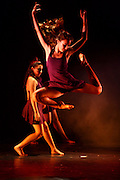 Youth in a modern dance performance for Gilad Shalit