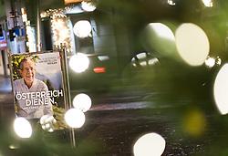 17.11.2016, Währing, Wien, AUT, Wahlkampf zur Präsidentschaftswahl 2016, im Bild Plakate von Präsidentschaftskandidat Van der Bellen // placards of the green supported candidate Van der Bellen  according to austrian presidential elections iin Vienna, Austria on 2016/11/17, EXPA Pictures © 2016, PhotoCredit: EXPA/ Michael Gruber