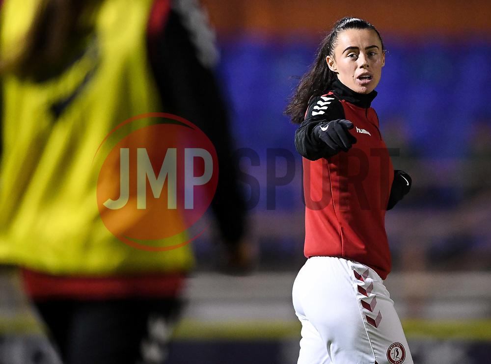 Laura Rafferty of Bristol City Women - Mandatory by-line: Ryan Hiscott/JMP - 13/01/2021 - FOOTBALL - Twerton Park - Bath, England - Bristol City Women v Aston Villa Women - FA Continental Cup quarter final