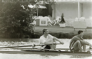 Henley on Thames, England, 1990 Henley Royal Regatta, River Thames, Henley Reach,  [© Peter Spurrier/Intersport Images], The Silver Goblets Nickalls' Challenge Cup: bow Matt PINSENT and Pete MULKERRINS,