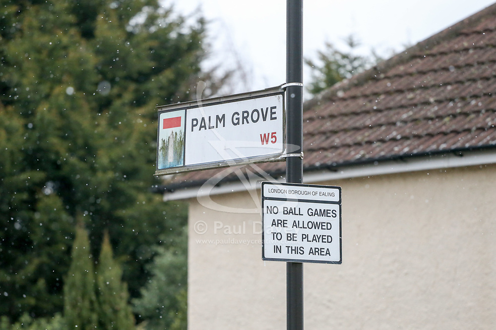 Royal Mail - Palm Grove in West London. London, March 17 2018.