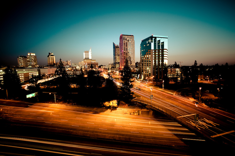 Downtown Sacramento Skyline- A city with room for growth