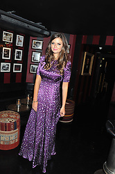 LADY NATASHA RUFUS ISAACS at the launch of Beulah's collaboration with Hennessy Gold Cup and a preview of the SS13 Collection held at The Brompton Club, 92b Old Brompton Road, London SW7 on 18th October 2012.