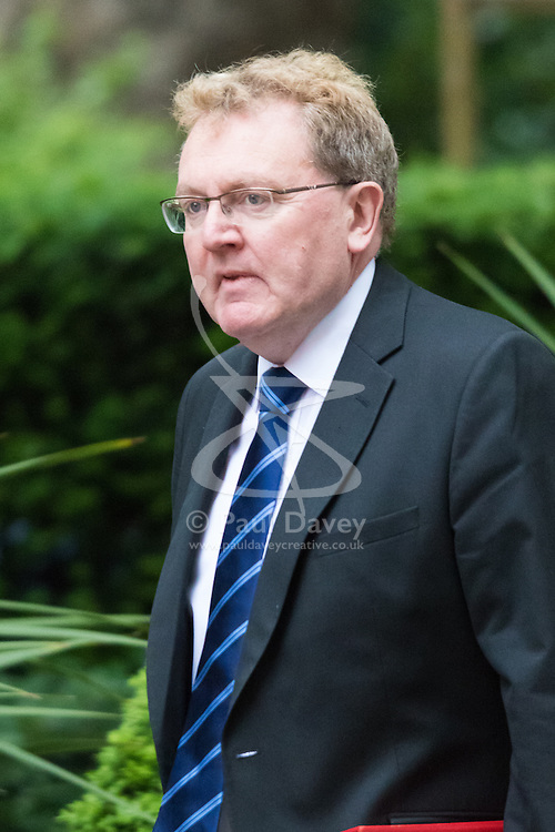 Downing Street, London June 2nd 2015. David Mundell, Secretary of State for Scotland arrives at 10 Downing Street to attend the weekly Cabinet Meeting.