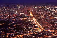 San Francisco from Twin Peaks @ Night