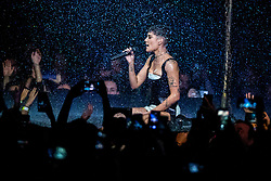 November 4, 2018 - Bilbao, Bizkaia, Spanien - Halsey bei der Verleihung der MTV European Music Awards 2018 in der Bizkaia Arena. Bilbao, 05.11.2018 (Credit Image: © Future-Image via ZUMA Press)