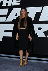 April 8, 2017 - New York, NY, USA - April 8, 2017  New York City..Maria Menounos attending 'The Fate Of The Furious' New York premiere at Radio City Music Hall on April 8, 2017 in New York City. (Credit Image: © Kristin Callahan/Ace Pictures via ZUMA Press)