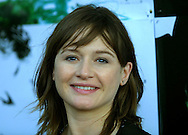 Star Emily Mortimer arrives at the UGC cinema for the gala screening of her latest film 'Young Adam', in which she co-stars alongside Ewan McGregor. The screening marks the opening of the annual Edinburgh International Film Festival which runs until 24th August..
