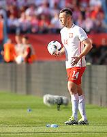 2016.06.06 Krakow <br /> Pilka Nozna Reprezentacja Mecz towarzyski<br /> Polska - Litwa<br /> N/z Jakub Wawrzyniak<br /> Foto Rafal Rusek / PressFocus<br /> <br /> 2016.06.06 Krakow Poland<br /> Football Friendly Game<br /> Poland - Lithuania<br /> Jakub Wawrzyniak<br /> Credit: Rafal Rusek / PressFocus