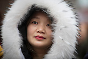NO FEE PICTURES                                                                                                                                                                  26/1/20 Xiaohua Zheng, Dublin celebrating the Chinese New Year, the year of the Rat at the New Years festival at Hill street in Dublin's north inner city. Picture: Arthur Carron