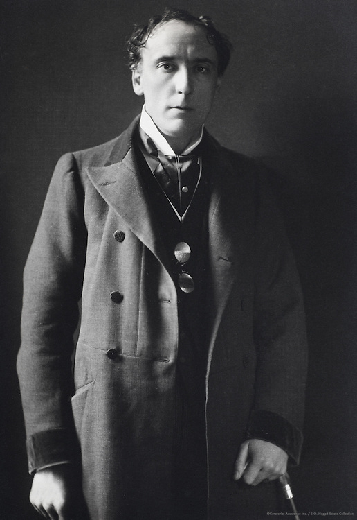Sir Henry Irving, actor-manager, England, UK, 1915
