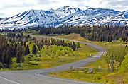 Alaska Canada Highway , Burwash Landing , Tok , Haines Junction
