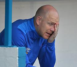 Carlisle United's physiotherapist Neil Dalton