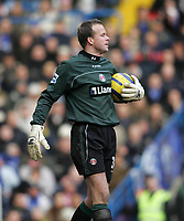 Photo: Lee Earle.<br /> Chelsea v Charlton Athletic. The Barclays Premiership. 22/01/2006. Charlton keeper Thomas Myhre.