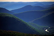 Image of the rolling hills of the Berkshires, Massachusetts, New England by Randy Wells
