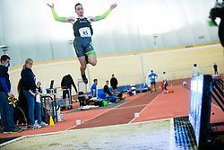 Andraz Durjava during Slovenian Indoor Championship, Olympic centre Novo Mesto, 13 February 2021, Novo Mesto, Slovenia. Photo by Grega Valancic / Sportida