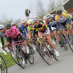 DELFZIJL wielrennen, De eerste etappe van de Energiewachttour 2014 werd verreden rond Delfzijl.