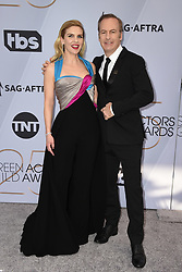 Rhea Seehorn, Bob Odenkirk attend the 25th Annual Screen Actors Guild Awards at The Shrine Auditorium on January 27, 2019 in Los Angeles, CA, USA. ©Lionel Hahn/ABACAPRESS.COM
