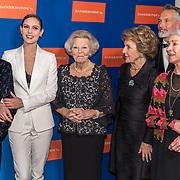 20191114 - Pr. Beatrix en Pr. Margriet bij jubileum Dansersfonds