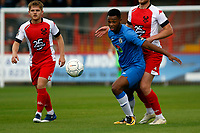 Nyal Bell. Kidderminster Harriers FC 2-1 Stockport County FC. National League North. 27.8.18.