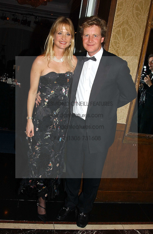 BEN and LUCY SANGSTER at the 2004 Cartier Racing Awards in association with the Daily Telegraph, held at the Four Seasons Hotel, London on 17th November 2004.<br /><br />NON EXCLUSIVE - WORLD RIGHTS
