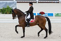 Marcela Krinke Susmelj, (SUI), Smeyers Molberg - Grand Prix Team Competition Dressage - Alltech FEI World Equestrian Games™ 2014 - Normandy, France.<br /> © Hippo Foto Team - Leanjo de Koster<br /> 25/06/14
