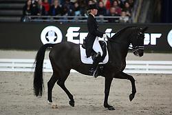 Barbancon Mestre Morgan, (ESP), Vitana V<br /> Grand Prix Special<br /> Reem Acra FEI World Cup Dressage<br /> Stuttgart - German Masters 2015<br /> © Hippo Foto - Stefan Lafrentz