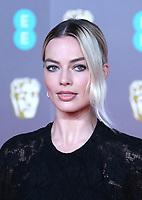 Margot Robbie, EE British Academy Film Awards, Royal Albert Hall, London, UK, 02 February 2020, Photo by Richard Goldschmidt