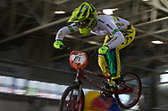 #21 (REYNOLDS Lauren) AUS at the 2014 UCI BMX Supercross World Cup in Manchester.