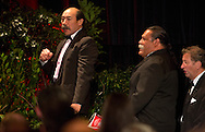 ***FREE FOR EDITORIAL US***.. Kapenga M Trust from Rotorua, winners of the prestigious 2012 Ahuwhenua Trophy - Bank of New Zealand Maori Excellence in Farming competition at tonight's Award dinner at Auckland's SkyCity Convention Centre, Friday 08 June 2012, CREDIT - John Cowpland / alphapix...This image is copyright of alphapix / John Cowpland..No images may be stored, manipulated, distributed or altered in any way, without written permission or license to do so. info@alphapix.co.nz and www.alphapix.co.nz ... Phone +64 6 8445334 or Mobile + 64 272533464