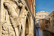 The Bridge Of Sighs - Doge's Palace ; Venice Italy .<br /> <br /> Visit our ITALY HISTORIC PLACES PHOTO COLLECTION for more   photos of Italy to download or buy as prints https://funkystock.photoshelter.com/gallery-collection/2b-Pictures-Images-of-Italy-Photos-of-Italian-Historic-Landmark-Sites/C0000qxA2zGFjd_k<br /> <br /> <br /> Visit our MEDIEVAL PHOTO COLLECTIONS for more   photos  to download or buy as prints https://funkystock.photoshelter.com/gallery-collection/Medieval-Middle-Ages-Historic-Places-Arcaeological-Sites-Pictures-Images-of/C0000B5ZA54_WD0s