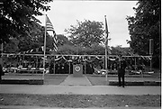 01/07/1962<br /> 07/01/1962<br /> 01 July 1962<br /> First sod turned at the new United States embassy at Ballsbridge, Dublin. Image shows Ambassador Grant Stockdale speaking at the ceremony. The gathering included Sean McEntee, Minister for Health; Frank Aiken, Minister for External Affairs; Lord Mayor of Dublin, James J. O'Keeffe T.D.; Rev. Dr. Patrick Joseph Dunne and 150 guests.