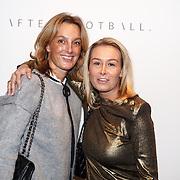 NLD/Amsterdam/20151216 - Life After Football dames editie, AnneMarie Landzaat (r)