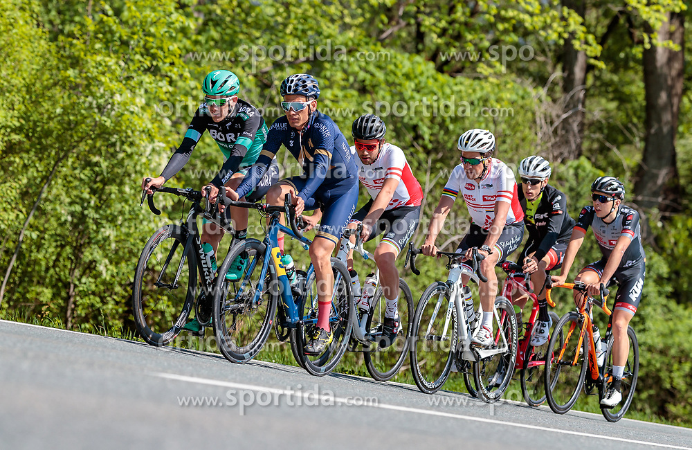 25.04.2018, Innsbruck, AUT, ÖRV Trainingslager, UCI Straßenrad WM 2018, im Bild v.l.: Patrick Konrad (AUT), Stefan Denifl (AUT) // during a Testdrive for the UCI Road World Championships in INNSBRUCK, Austria on 2018/04/25. EXPA Pictures © 2018, PhotoCredit: EXPA/ JFK