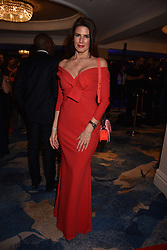 Christina Estrada at the Chain of Hope Gala Ball held at the Grosvenor House Hotel, Park Lane, London England. 17 November 2017.<br /> Photo by Dominic O'Neill/SilverHub 0203 174 1069 sales@silverhubmedia.com