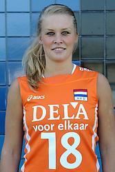 02-06-2010 VOLLEYBAL: NEDERLANDS VROUWEN VOLLEYBAL TEAM: ALMERE<br /> Reportage Nederlands volleybalteam vrouwen / Judith Blansjaar<br /> ©2010-WWW.FOTOHOOGENDOORN.NL