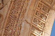 Detail of Monumental Arch, Palmyra, Syria. Ancient city in the desert that fell into disuse after the 16th century.