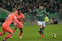 SOCCER : Saint Etienne vs Caen - League 1 Conforama - 01/27/2018<br /> Remy Cabella (saint etienne)  <br /> <br /> Norway only