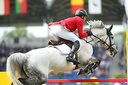 Beerbaum Ludger, (GER), Chiara<br /> Team Competition round 1 and Individual Competition round 1<br /> FEI European Championships - Aachen 2015<br /> © Hippo Foto - Stefan Lafrentz<br /> 19/08/15