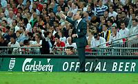 Photo: Richard Lane.<br />England v Brazil. International Friendly. 01/06/2007. <br />England manager, Steve McClaren.