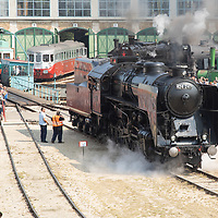 Steam Engine Race in Budapest 2018