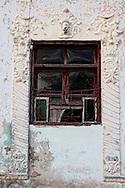 Wall and window in Manzanillo, Granma, Cuba.
