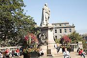 King Edward seventh statue, Aberdeen, Scotland