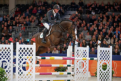 Vrieling Jur, NED, Freeman VDL<br /> KWPN Stallionshow - 's Hertogenbosch 2018<br /> © Hippo Foto - Dirk Caremans<br /> 01/02/2018