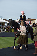 AIOFE BYRNE, Side-Saddle Dash, Southern Spinal Injuries Trust charity Day. Wincanotn. 25 October 2015.