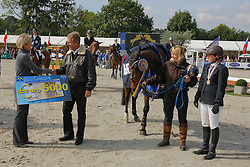 Bijlsma Maaike - Vedor<br /> World Championship Young Horses Lanaken 2008<br /> Photo Copyright Hippo Foto