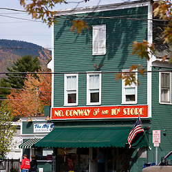 The five and dime in North Conway, New Hampshire.