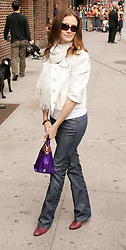 Jun 05, 2008 - New York, NY, USA - Actress JULIA ROBERTS arrives for her appearance on 'The Late Show With David Letterman' held at the Ed Sullivan Theater (Credit Image: Nancy Kaszerman/ZUMAPRESS.com)
