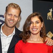 NL/Utrecht/20200929 - NFF filmpremiere Buiten is het Feest, Alisa Cuuna en partner Floris ten Duis